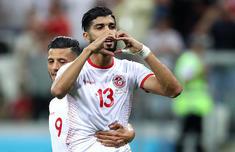 世界杯突尼斯1-2英格兰