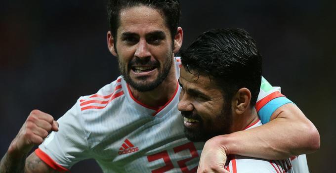 2018世界杯B组第2轮:伊朗0-1西班牙 科斯塔破门制胜