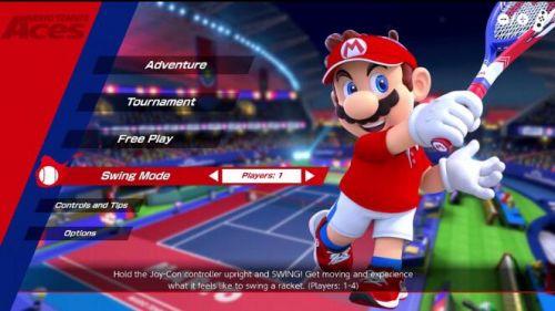 马里奥网球体感模式怎么玩 NS马里奥网球Aces体感模式操作介绍