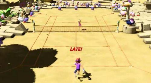 马里奥网球体感模式怎么蓄力 马里奥网球体感模式如何发球