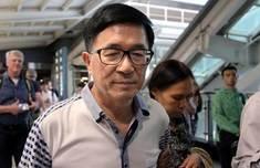 陈水扁挺军公教 林浊水:鼓动群众向不肯赦扁的人呛声