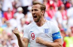 英格兰6-1巴拿马 凯恩戴帽超C罗