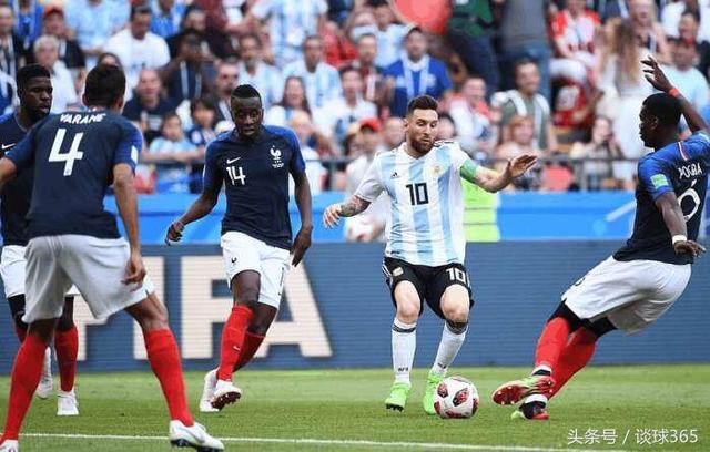 姆巴佩一战封神,独造三球,狂奔60米打爆阿根廷后防,送梅西回家