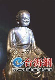 酷似马云的铜佛像现身古代石雕佛像艺术品展 观众:太像了