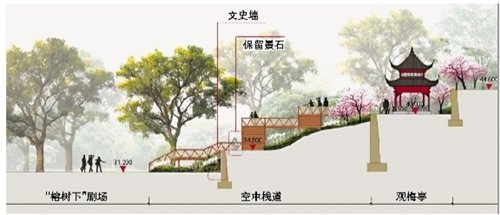 福州烟台山公园改造 将再现万梅争妍