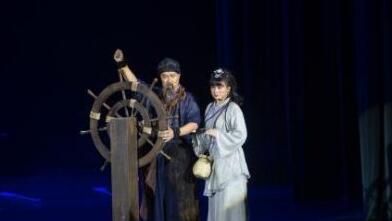 海南大型原创音乐剧《更路传奇》海口上演