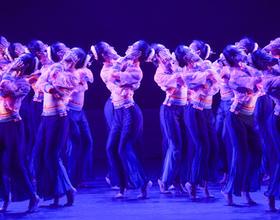 第七届海峡两岸青年舞蹈嘉年华在福州开幕