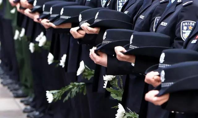 今天是个特别的日子,让我们向人民警察致敬!