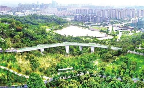 """""""星河之路""""将点亮福州飞凤山公园"""