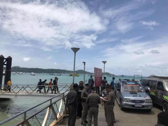 泰国普吉岛翻船事故 沉船画面曝光