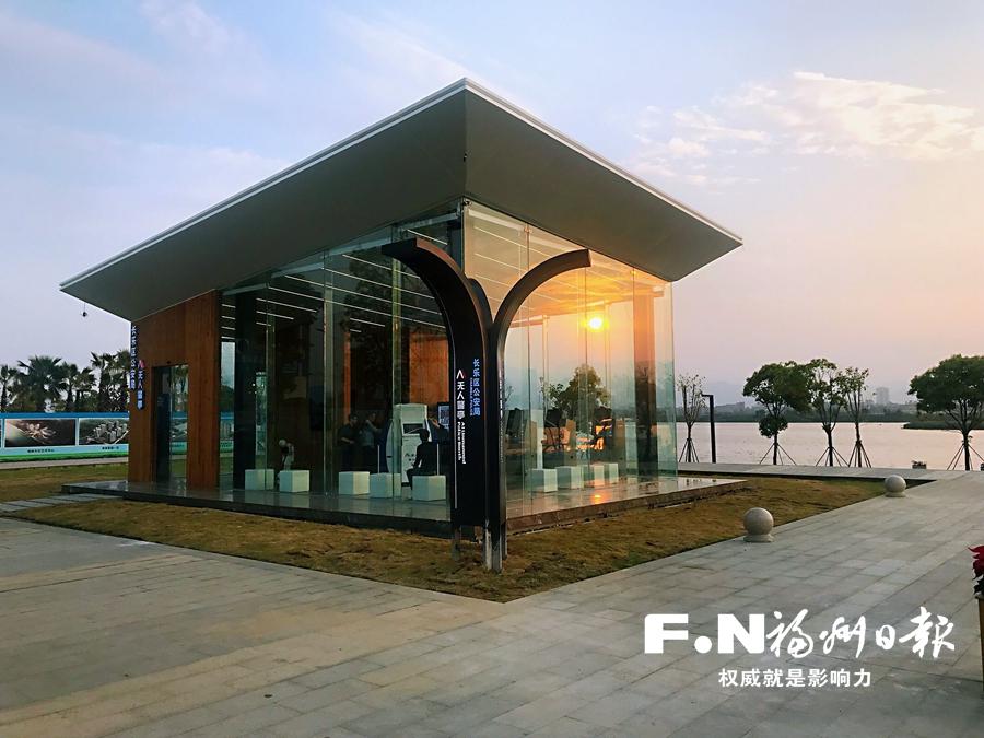 全国首座AI无人警亭在福州滨海新城投用