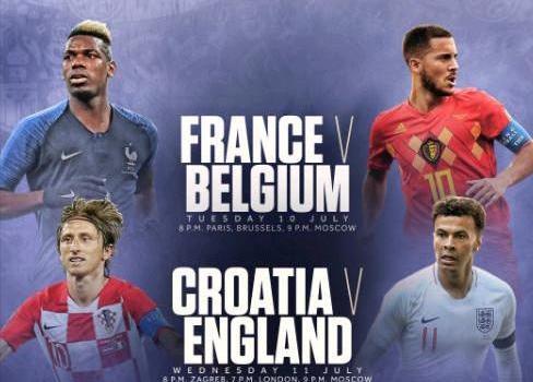 2018世界杯冠军是谁预测 四强名单出炉克罗地