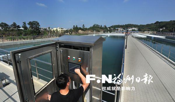 """福州飞凤山水厂""""肚量""""大增 金山片区供水更有保障"""