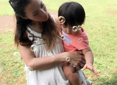 34 岁混血女星土屋安娜四度怀孕 3 个孩子不同爸