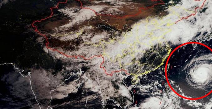 """台风""""玛莉亚"""" 预计11日在晋江到福鼎沿海一带登陆"""