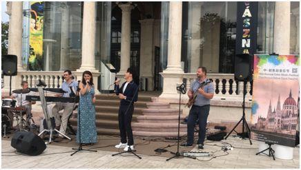 中国流行音乐走进匈牙利 填补中匈文化交流空白