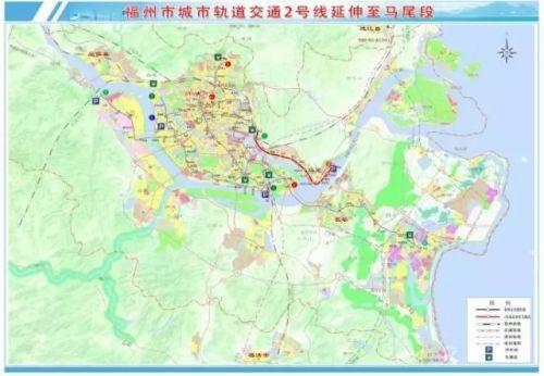 激动!福州地铁2号线或通向马尾!12座车站从鼓山串至马尾港!