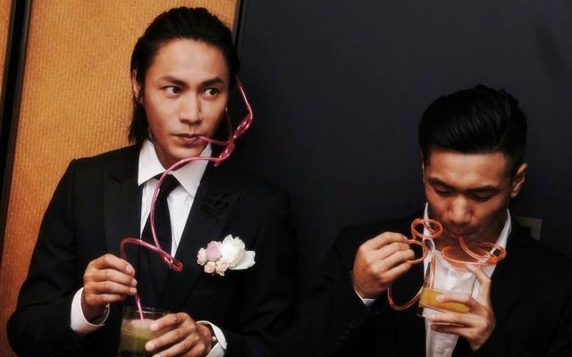 陈坤当伴郎照片曝光 网友都炸了:谁结婚了?这个伴郎有点帅!