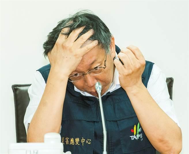 台北大塞车 柯文哲被批只会做网红成麻烦制造者
