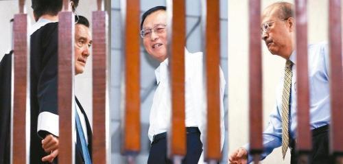 """马英九等人因""""三中案""""被诉 检方请求对其从重量刑"""