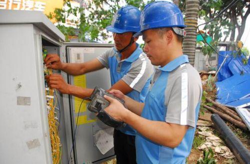 福建:中国电信受损通信快速恢复