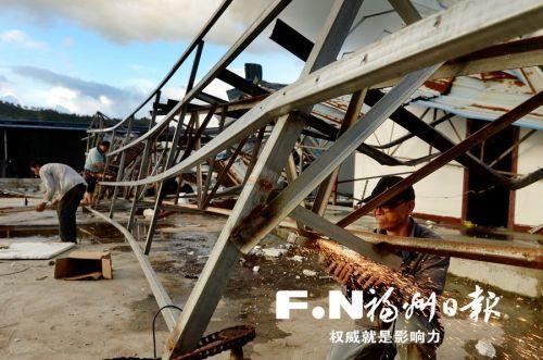 王宁赴连江罗源检查时强调:全力以赴恢复灾后生产生活秩序