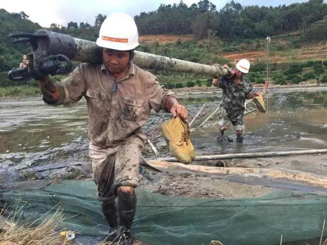 """因""""玛莉亚""""台风受损电力设施修复供电 全省灯火璀璨"""
