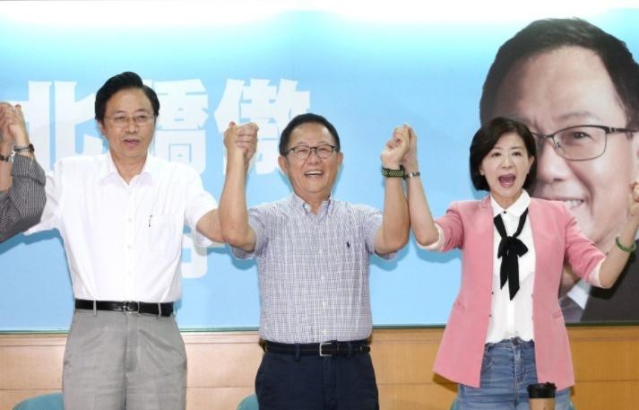 丁守中台北市长竞选总部请来张善政当主委 王育敏任总干事