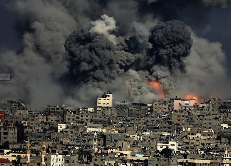 以战机轰炸加沙现场血肉模糊太恐怖!两国为什么打战