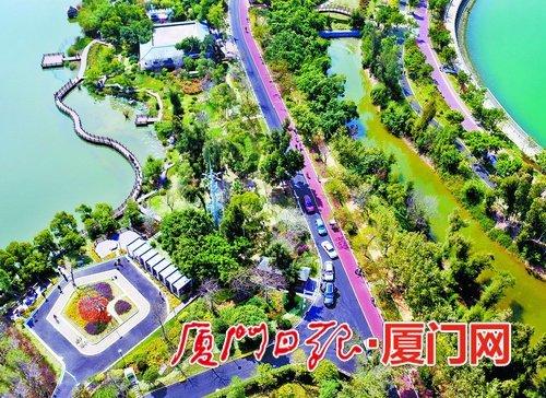 厦门湖里五缘湾湿地公园 获得厦门市民最满意公园评选第一名