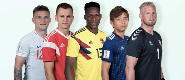 FIFA世界杯五大亮眼球星出炉 切里舍夫+米纳领衔