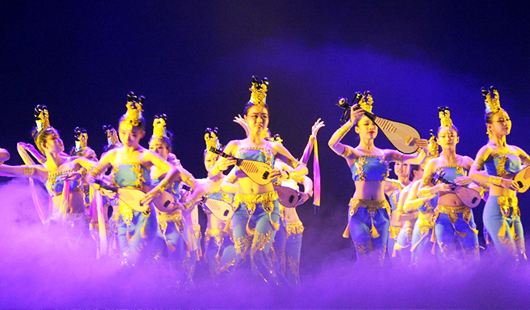 第二届海峡两岸大学生舞蹈大赛举办颁奖晚会