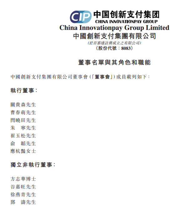 (注意:中国有赞在6月份更名之前叫中国创新支付集团有限公司,但是股票代码仍是08083)