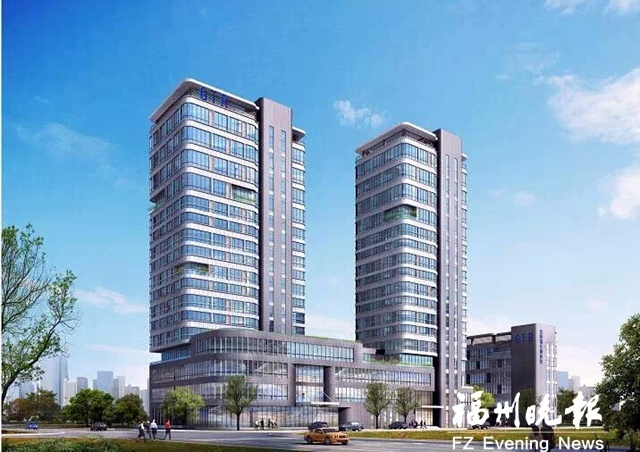 福州高新区吉特瑞项目产业基地大楼封顶 拟年底投用