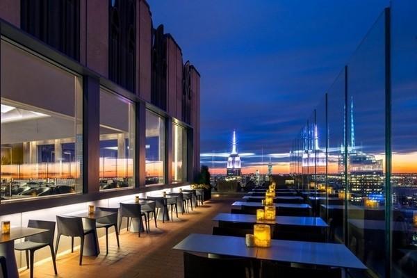 纽约十大屋顶酒吧 夏季蜜月休闲之地
