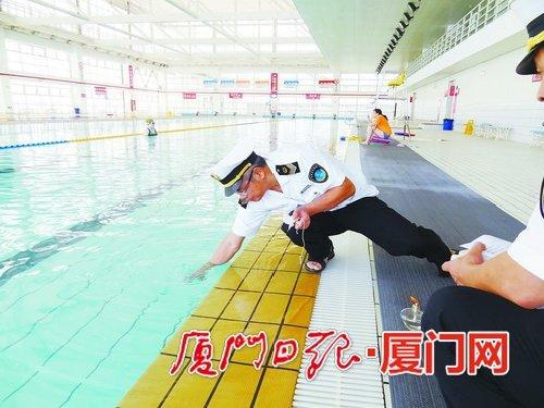 澳门银河手机版泳池抽检合格率超八成 不合格单位责令整改