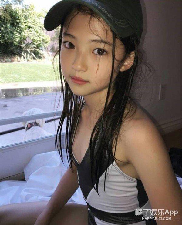 韩国10 岁的练习生火了!Ella Gross个人资料小小年纪容貌惊为天人