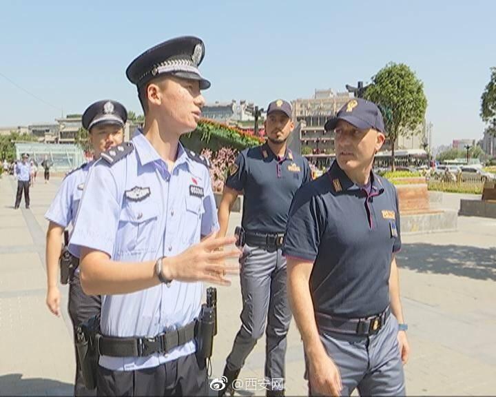 意大利警为什么在西安巡逻?他们将具体在哪些地方巡逻