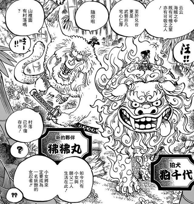 海贼王漫画912,艾斯与和之国小玉的渊源 尾田早已埋下的伏笔