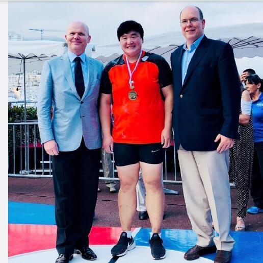 巩立姣摩纳哥夺冠 成功捍卫女子铅球世界一姐地位