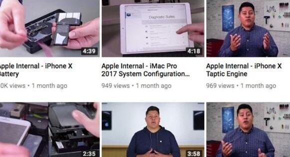 苹果内部维修视频泄露真相揭秘,这11个维修教学视频观看地址曝光