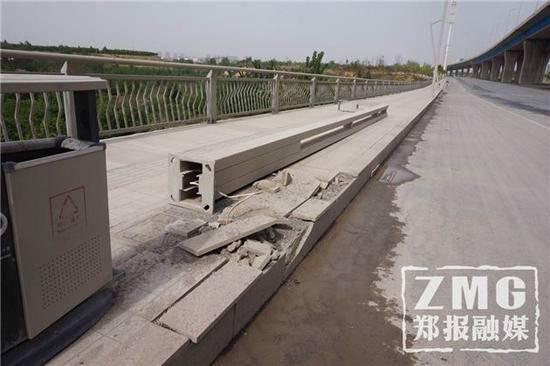 桥梁没验收便通车