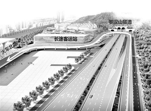 其中,位于福州火车站北广场旁的站东互通改造工程最受关注,将解决三环图片
