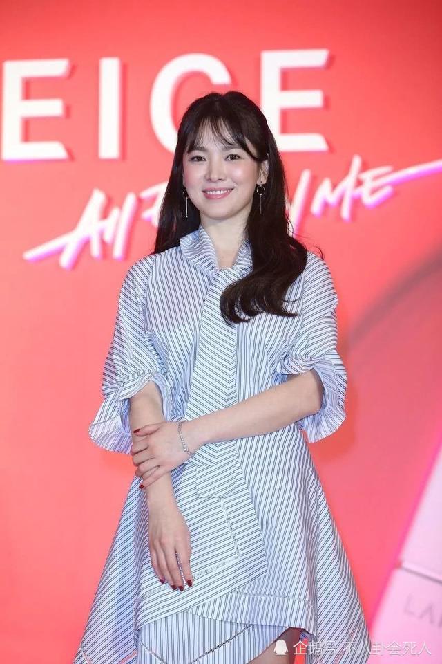 2018韩国人最爱的美女明星排行,宋慧乔第二,前三名都是人妻