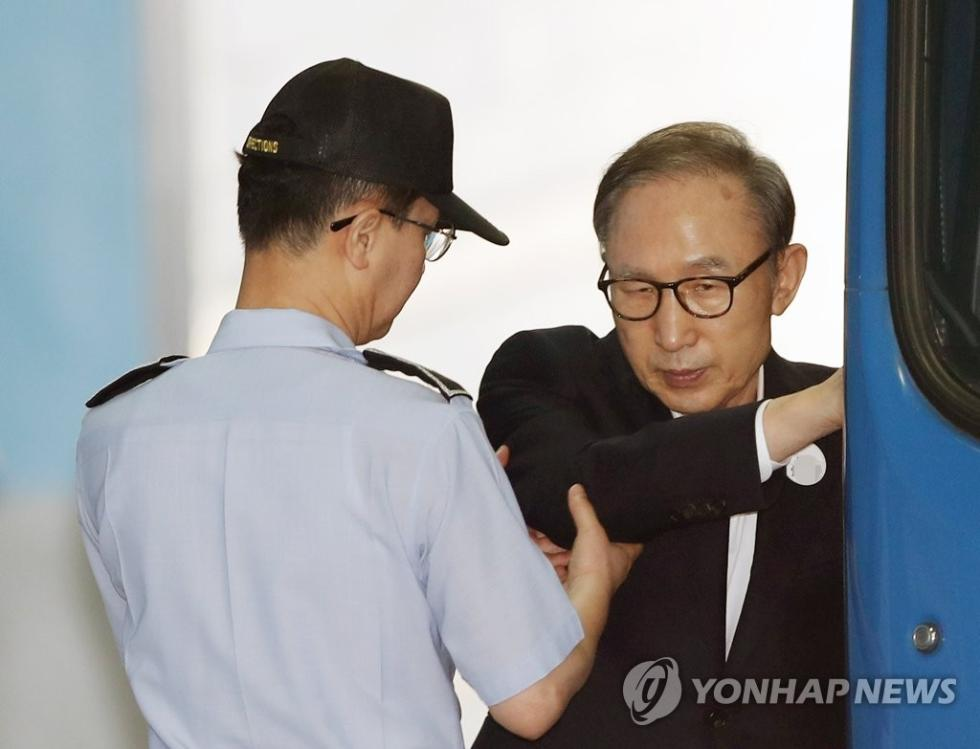 李明博住院 韩国前总统李明博最新消息罪名是什么?