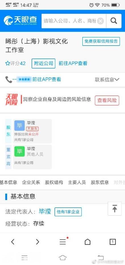 毕滢是张丹峰工作室法人?毕滢个人资料如何上位成功真相遭扒