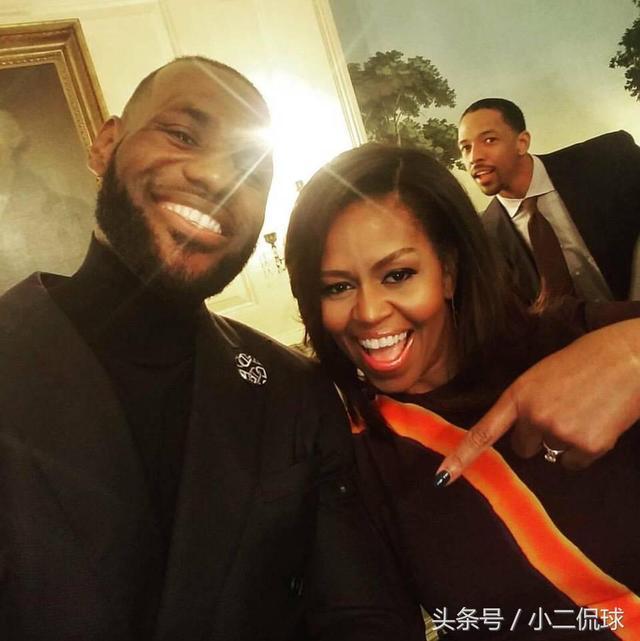 奥巴马夫人称赞詹姆斯是怎么回事? 公益詹,没得黑