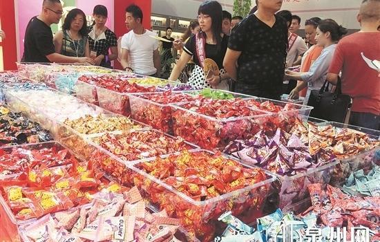 """全国出口糖果两成泉州造 """"一带一路""""市场最吃香"""