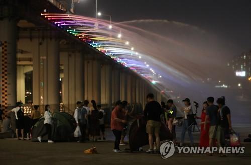 """首尔出现""""热带夜"""" 夜间最低气温创111年来新高"""