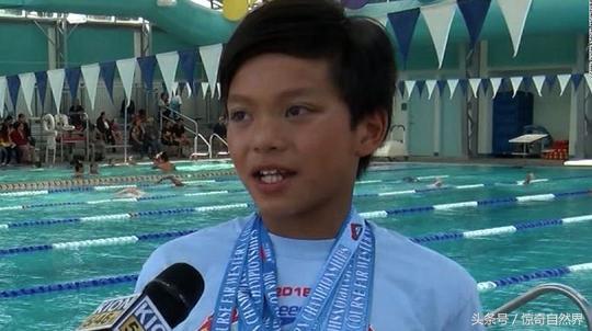 10岁男孩打破菲尔普斯纪录怎么回事 比破菲尔普斯的记录还快1秒
